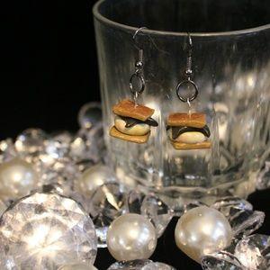 Jewelry - Handmade Smore Earrings